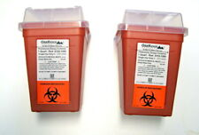 New Oakridge Products Sharps And Biohazard Disposal Containers Set Of 2