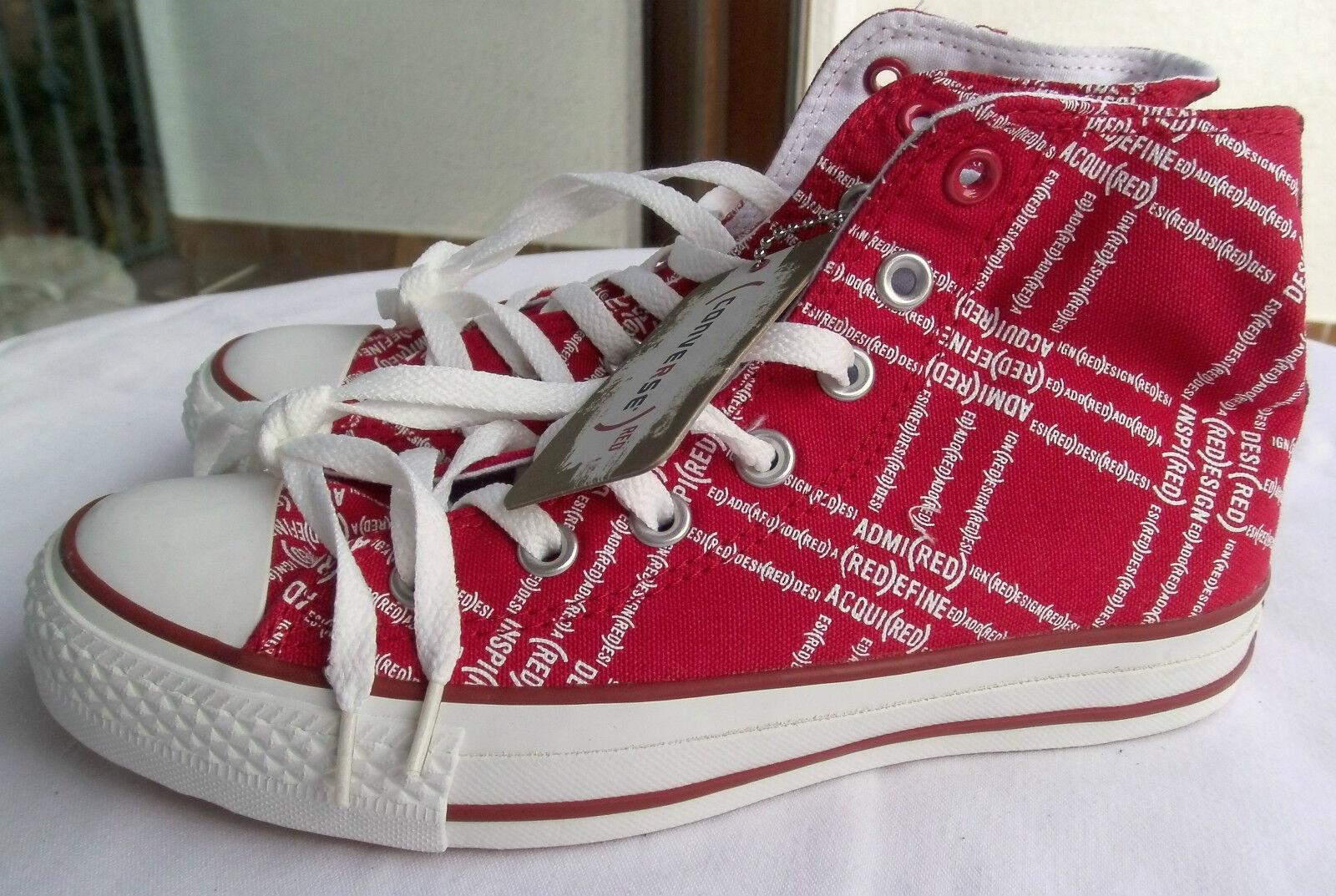 Converse Chuck Sneaker Serie ROT, rot/weiß, Gr. 37 NEU
