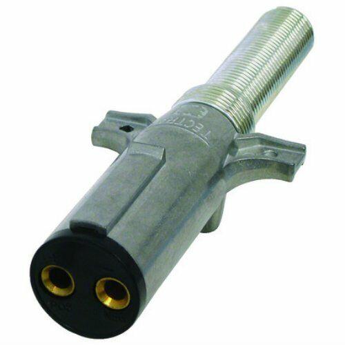 Tectran 670-21SG Dual Pole Plug with Cable Guard