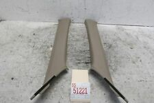 2003 ACURA CL TYPE S LEFT RIGHT FRONT WINDSHIELD INNER PILLAR TRIM COVER 13019