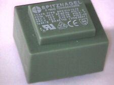 Printtrafo prim. 230V sek 2x12V 2x63mA 1,5VA Transformer Transformator EL30/10,5