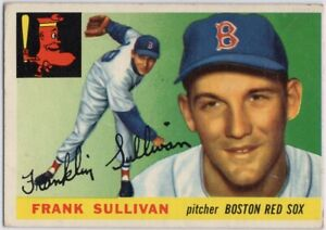 1955-Topps-106-Frank-Sullivan-ROOKIE-RC-VG-VGEX-Boston-Red-Sox-FREE-SHIPPING