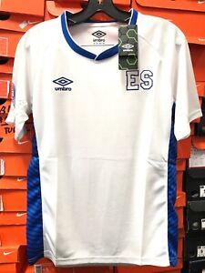 7976409f06a El Salvador 2017-18 UMBRO Soccer Jersey Camisa De El Salvador Umbro ...