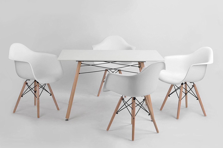 Sedie Bianche Design : Sedie bianche dsw retro lounge cafè poltrona da pranzo pranzo