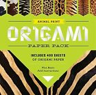 Animal Print Origami Paper Pack: Includes More Than 400 Sheets of Origami Paper Plus Basic Fold Instructions by Sterling Publishing Company (Paperback, 2014)