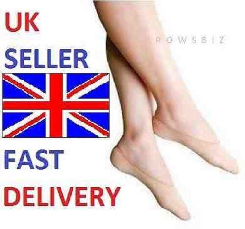 Donne Ragazze Signore PIEDINO Scarpa FODERA Invisibile Calzini Antiscivolo 5 paia UK Venditore