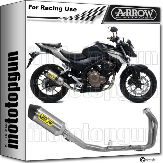 ARROW LIGNE COMPLETE COMPETITION RACE-TECH TITANIUM CARBY HONDA CB 500 F 2017 17