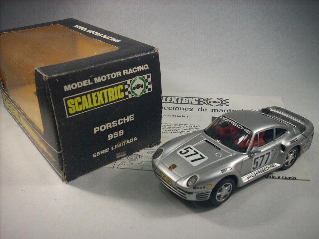 Scalextric Exin   8330 Porsche 959 Edición limitada y numerada