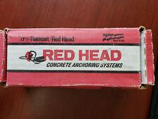 "BOX OF 10PCS ITW Red Head LDT-5850 5//8/"" x 5/"" Tapcon LDT Concrete Screw Anchors"