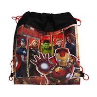 12pc Marvel Avengers Sling Bag Drawstring Backpack Birthday Party Favors Lot