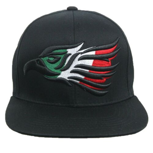 HECHO EN MEXICO Baseball Cap Eagle Flat Bill Cotton Snapback Hip Hop Outdoor Hat