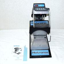 Stahls Hotronix Xc Cap Hat Thermal Heat Transfer Press Amp Manual Works Great