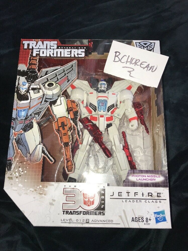 TRANSFORMERS Generations Leader Class JETFIRE 30th 2014 New