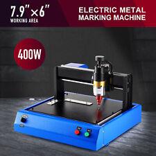 400w Electric Metal Engraving Marking Machine 79x6 Bed Thorx6 93hra Needle More