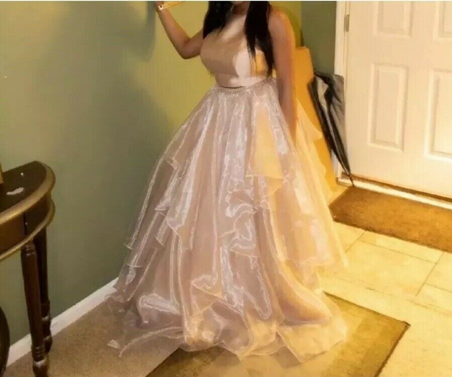 Two Piece Prom Ball Gown (PAYPAL USE ONLY) (Only Contact/Message Through eBay)