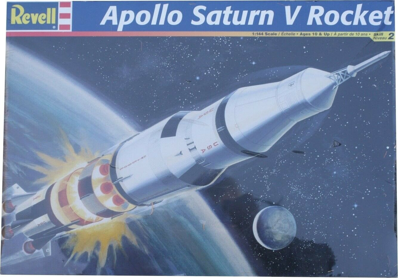 Revell  Apollo Saturn V Rocket Ref 85-5082 Escala 1 144