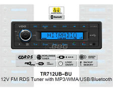 12 Volt Bluetooth PKW Auto Radio, RDS-Tuner, MP3, WMA, USB, 12V Blau TR712UB-BU