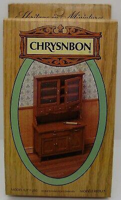 Dollhouse Miniature - Chrysnbon Furniture Kit - Kitchen ...