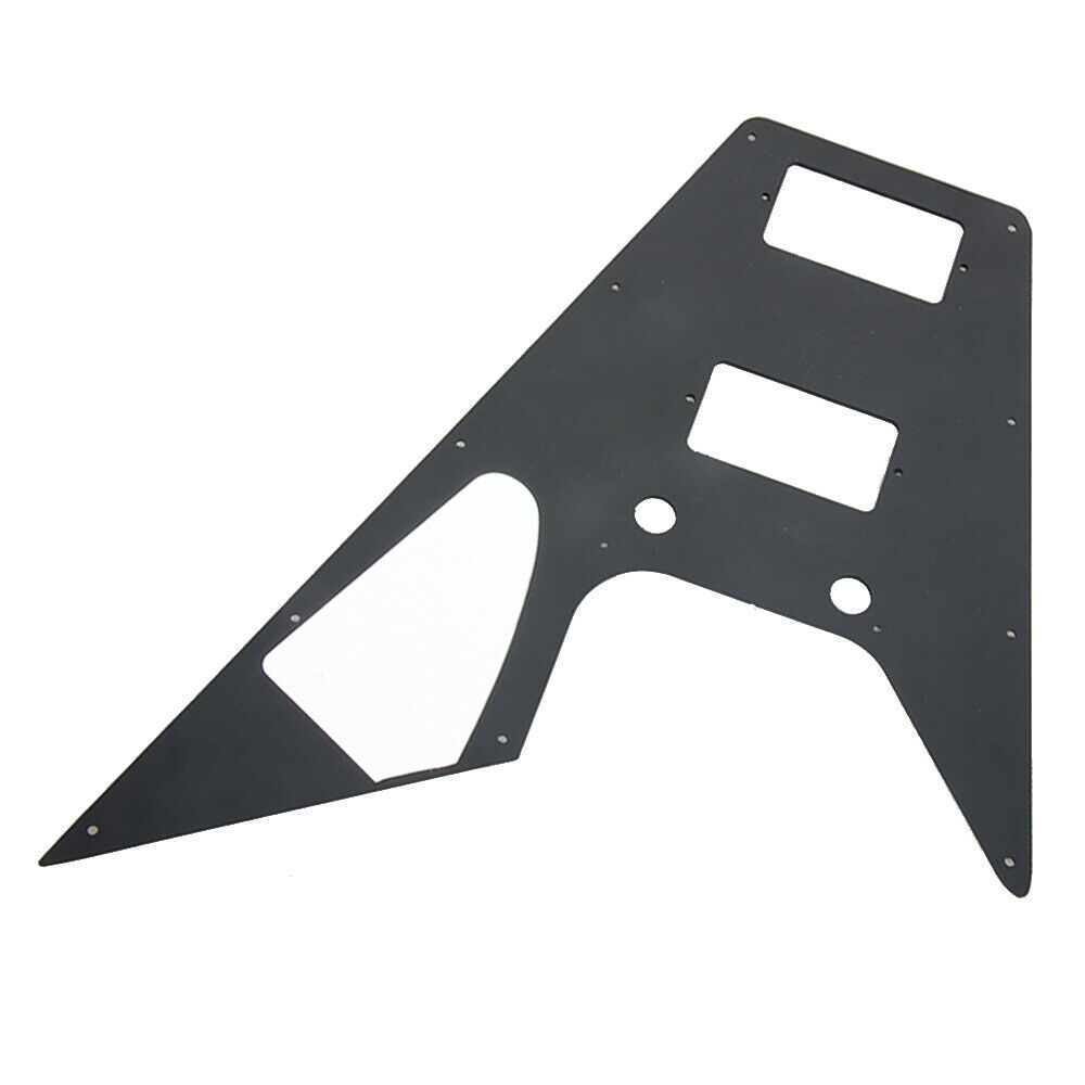 Black Pickguard For 70s Kalamazoo Made for Gibson Flying V replacement