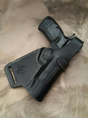 Choose Gun Model /& Color Sob Holster Custom Leather Small of Back