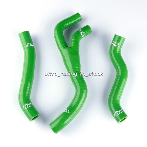 for Honda CR125R CR 125 1998 1999 Green Silicone Radiator Coolant Y Hose New