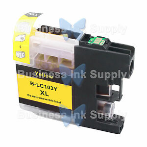 1-YELLOW-LC103XL-HIGH-YIELD-compatible-LC103XL-LC-103-LC103Y-for-Brother-printer