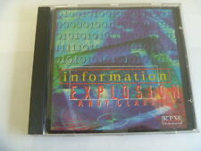 ANDY CLARK KPM INFORMATION EXPLOSION RARE LIBRARY SOUNDS MUSIC CD