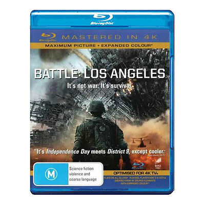 Battle: Los Angeles Blu-ray Brand New Region B Aust. - Mastered in 4K