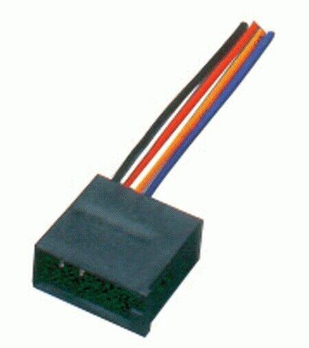 Conector cable adaptador alimentacion radio ISO Universal