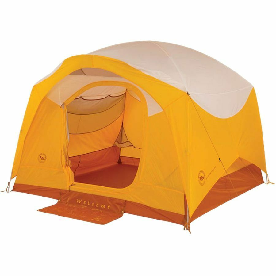 Big Agnes Big House 6 Deluxe Tent Six Person Shelter High Quality Camping