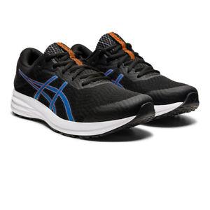Asics Hommes Patriote 12 Chaussures De Course Baskets Sneakers Noir Sport Respirant