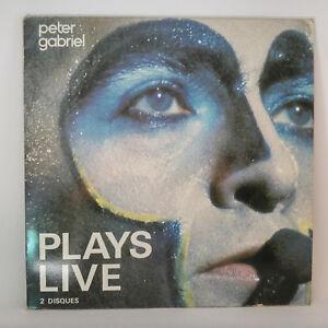Peter-Gabriel-Plays-Live-2-Vinyl-LP-Album-Reissue-1985-Art-Rock