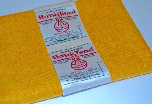 Harris Tweed Tissu /& étiquettes 100/% LAINE TARTAN EN ÉPI loisirs créatifs