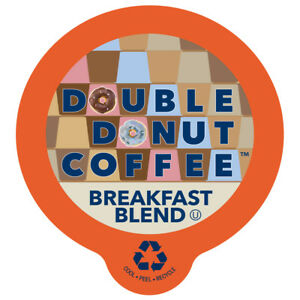 Double-Donut-Breakfast-Blend-Coffee-Single-Serve-cups-for-Keurig-K-cup-Brewer