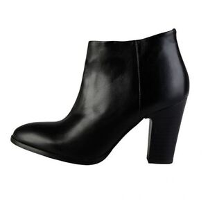 Versace-V1969-CANDICE-Echtleder-Stiefelette-Pumps-Ankle-Boots-Damenschuh-38-41