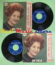 LP 45 7'' MINA Due note MARIO D'ALBA Uno specchio di luna ITALDISC no cd mc dvd*