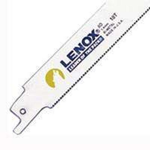 "50 NEW LENOX PACK LONG 6/"" BI-METAL 18 TPI RECIROCATING SAW BLADES 3780020"