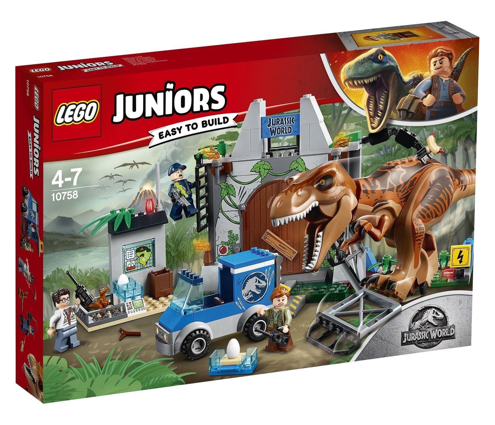 LEGO Jurassic World Velociraptor Chase 2018 (75932)