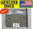 US MILITARY vinyl tech waterproof dry bag GI usmc pack 65L similiar to Seal Line
