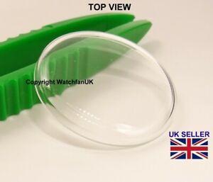 Remplacement Verre de Montre Crystal-Low Dome-Diamètre 30.4 mm