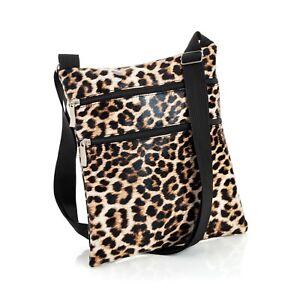 bf829e892ff Details about Ladies Animal Print Cross Body Messenger Bag Women Shoulder  Over Bags Handbag UK
