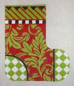 JG-Melissa-Shirley-1262-3D-Christmas-Boot-Hand-Painted-HP-Needlepoint-Canvas-Set
