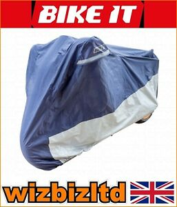 Deluxe Polyester Ventilated Motorcycle Raincover Triumph 900 Tiger 1995 RCODEL02