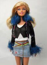 Barbie Doll Blonde hair Blue eyes Straight legs Redressed