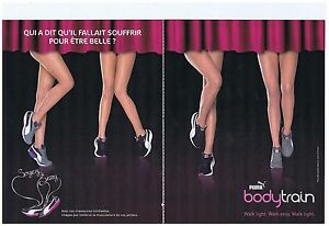 PUBLICITE ADVERTISING 114 2011 PUMA Bodytrain   basket chaussures (2 pages)