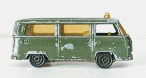 Majorette-Volkswagen-Ambulance-Military-No-244-DieCast-Scale-1-60-1969-1975