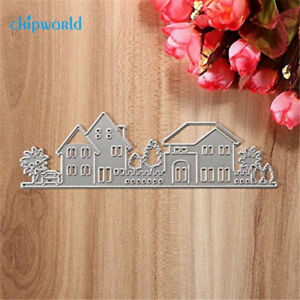 Metal-House-Cutting-Dies-Stencil-Album-Paper-Card-Scrapbook-Stanzschablone-DIY