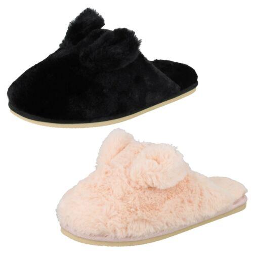 Ladies Four Seasons Bunny Ears Slippers *Patricia*