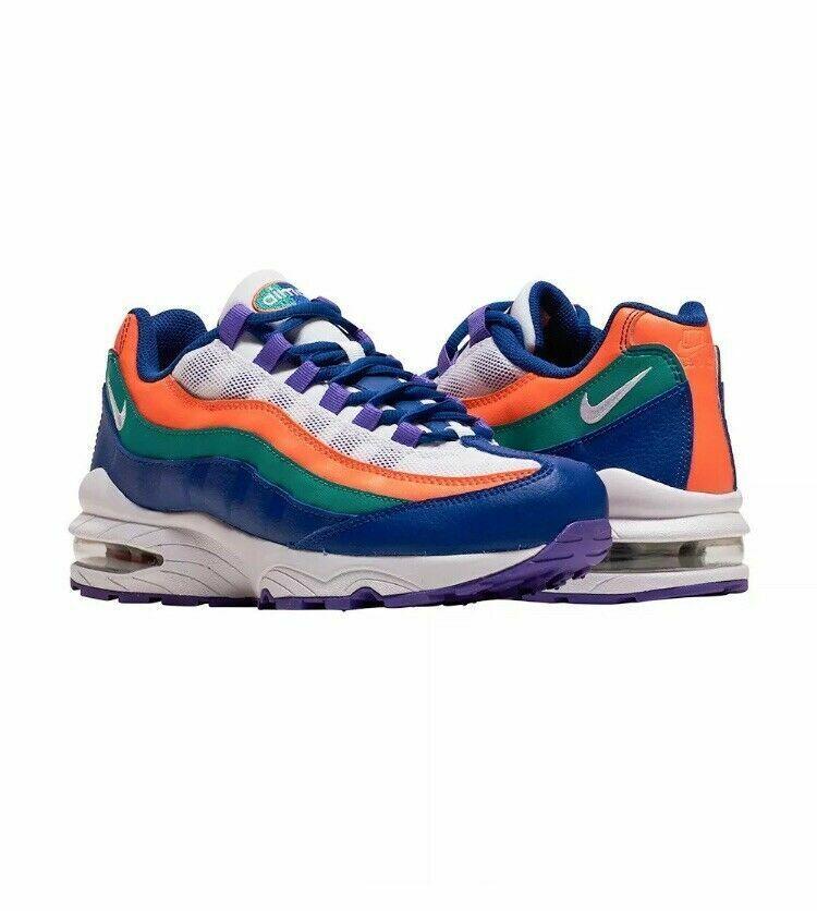Nike Nike Nike Air Max 95 GS Women`s Girls Boys Trainers shoes 100% Original 307565 412 a6da44