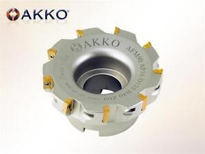 AKKO Planfräser für Wendeplatten Typ APKT 1003.. D=50mm